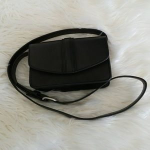 Black leather purse from urban outfitters